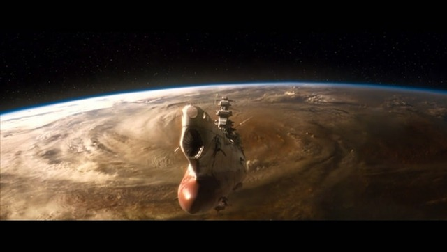 It's the Action in the Live Action Adaptation of Space ...