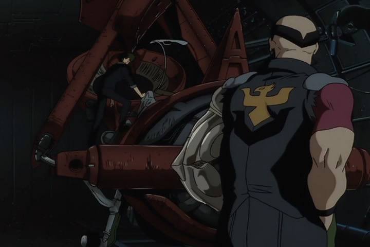 What is the Symbol on the back of Jet Black's clothes ...