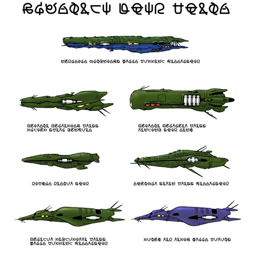 Macross Zentraedi Capital Ships