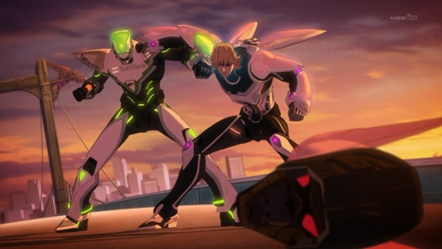 tiger & bunny 23 tiger vs bunny cross counter