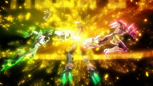 tiger & bunny 24 super combined attack