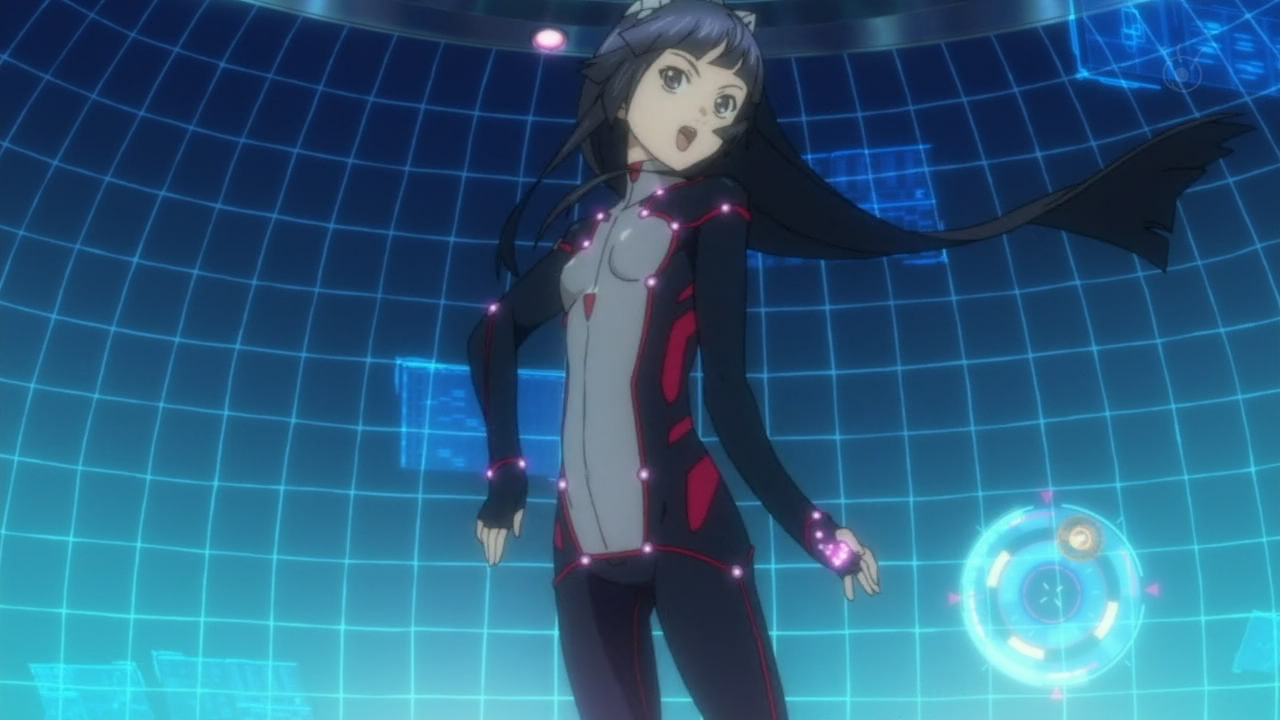 Guilty Crown episode 2 dancing loli