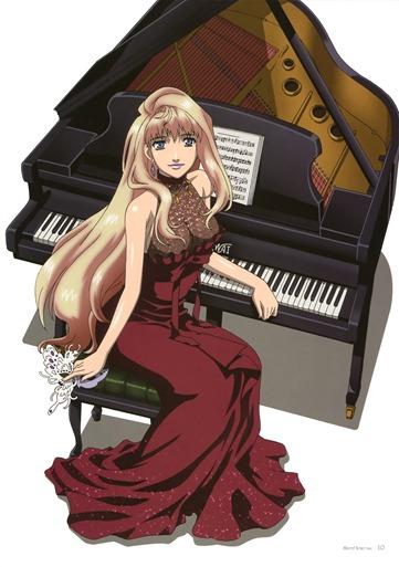 Macross Frontier Sheryl Nome Piano