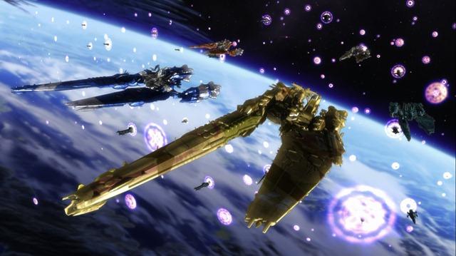Macross Frontier The Wings of Goodbye SMS NUNS Macross Class Fleet