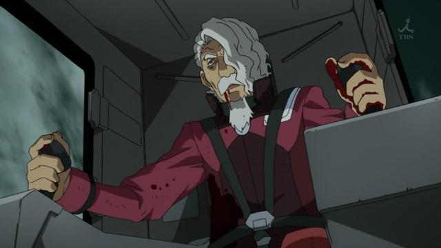Mobile Suit Gundam AGE 03 Captain Bruzar Last Flight