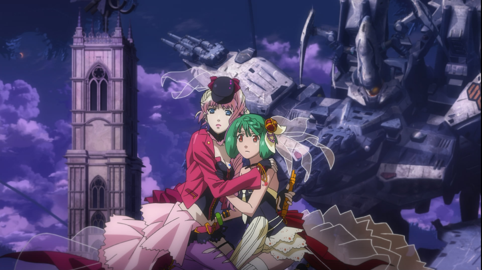 The Fourth of 6 Posts on Macross Frontier The Wings of