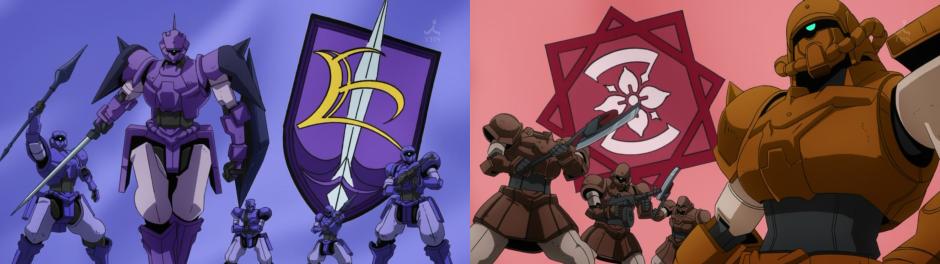 Gundam AGE Eula vs Zalam