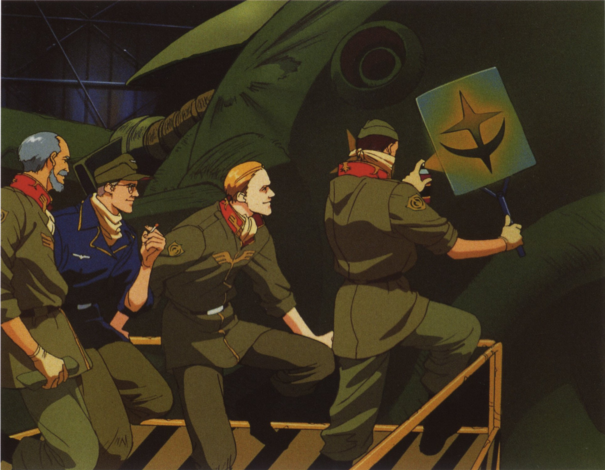 The Despair of Zeon At The Bottom of The Gravity Well–Mobile Suit