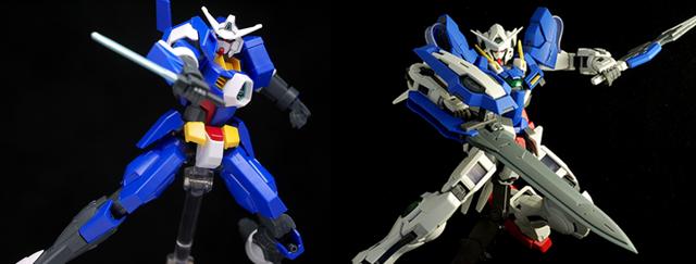 Gundam AGE 01 Spallow GN-001 Exia
