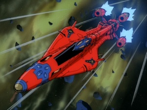 Outlaw Star in Space