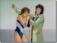 Outlaw Star Fred Muscle Woman