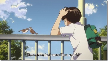 Mysterious Girlfriend X Look Like a Couple