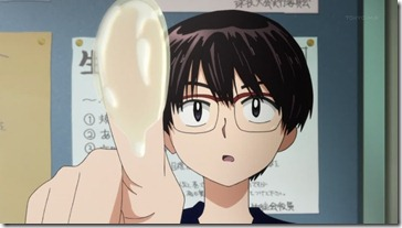 Mysterious Girlfriend X Oka Drool Finger