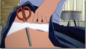Mysterious Girlfriend X Panty Scissors