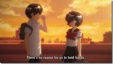 Mysterious Girlfriend X Urabe No Hold Hands