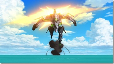 Eureka Seven AO Nirvash Full Speed