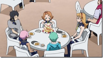 Eureka Seven AO Team Goldilocks
