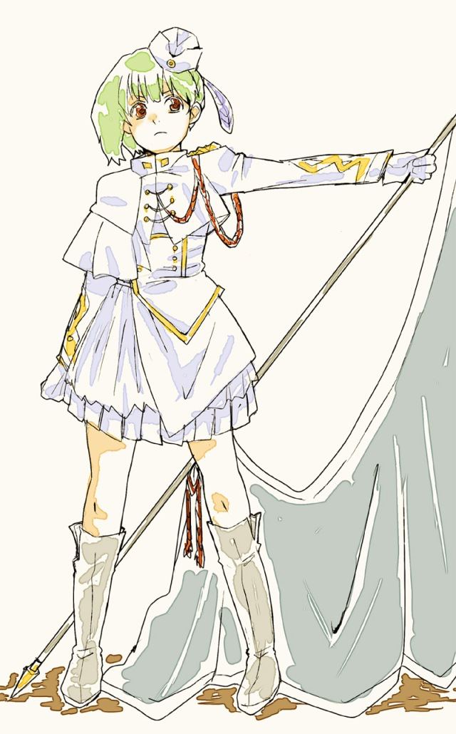 Ranka wearing Sheryl's most awesome outfit