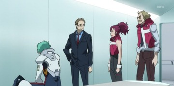 Eureka Seven AO Ao Getting Punished