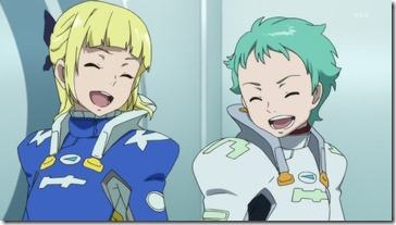 Eureka Seven AO Fleur Ao Laughing Together