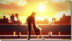 Nazo no Kanojo Mysterious Girlfriend X Tsubaki Urabe Hug in the Sunset