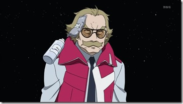Eureka Seven Ao Ivica Hit in Face