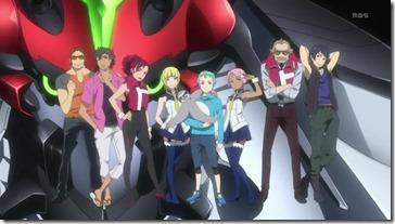 Eureka Seven AO Main Cast