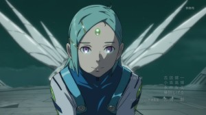 Eureka Seven AO Eureak on Gekko-Go with Wings