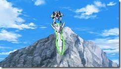 Eureka Seven AO Ao Holding Quartz Cannon