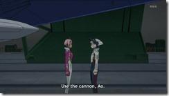 Eureka Seven AO Elena Wants the Cannon