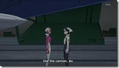 Eureka Seven AO Elena Wants the Cannon